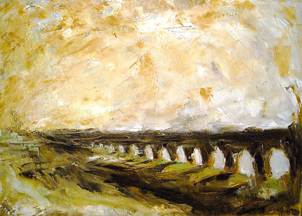 view-paint-rome-landscape-campagna-romana/arches-in-the-countryside-roman-campagna-aqueduct-roman-rome-italian-art-roman-campagna-paint-alessandro-nesci