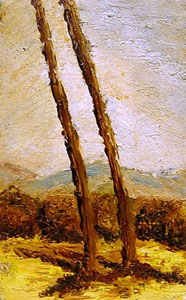 view-paint-rome-landscape-campagna-romana/trees-countryside-landscape-italian-art-roman-campagna-paint-alessandro-nesci